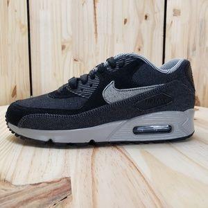 NIKE Womens Air Max 90 SE Running Shoes Denim :741 NWT